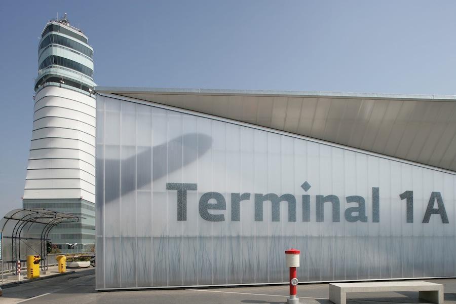 Vienna Airport Austria Rodeca Translucent Building